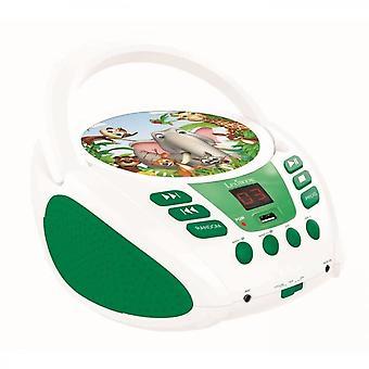Lexibook Reproductor de CD portátil para niños