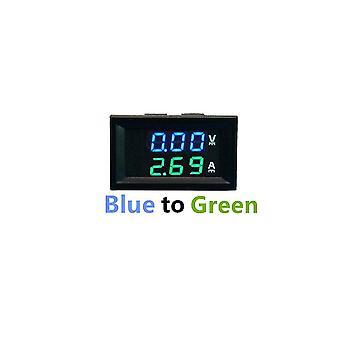 0-100V 10a 50a 100a led digital voltmeter ammeter bil motocycle spänningsmätare voltdetektor monitorpanel