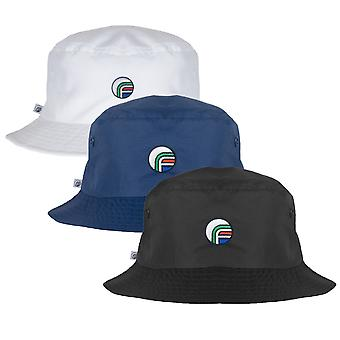 fan originals Bucket Hat Classic All White Navy Black embroidered logo