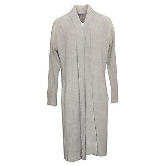 Modern Soul Women's Sweater Cozy Open Front Cardigan Pockets Gray 679118