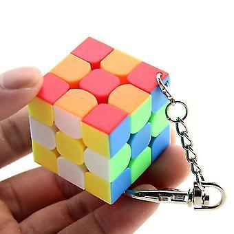 Creative Magic Cube Key Chain-hang Decorations