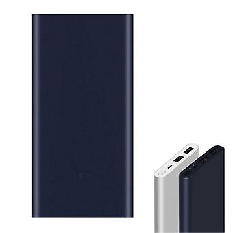 Xiaomi Mi Powerbank 2 - 10,000mAh with 2 Charging Ports - LED Battery Status External Emergency Battery Charger Charger Blue