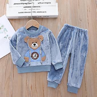 Baby Warm Casual Sweater met Capuchon, Driedelig Babypak