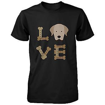 ゴールデン ・ リトリーバー愛メンズ シャツかわいいレトリーバー犬の所有者のためのギフトの考え