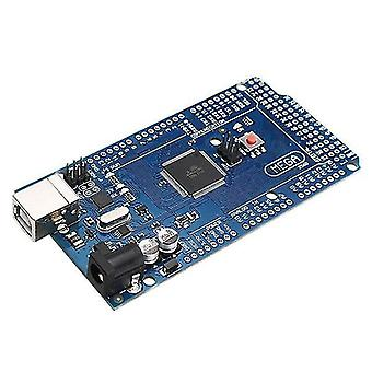 Mega 2560 r3 atmega2560-16au placa de desarrollo sin cable usb unsolder pin cabezal para arduino