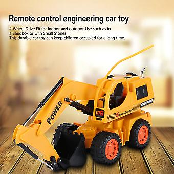 Radio Control Stunt Excavator Simulation Tractors Engineering Vehicles Digger