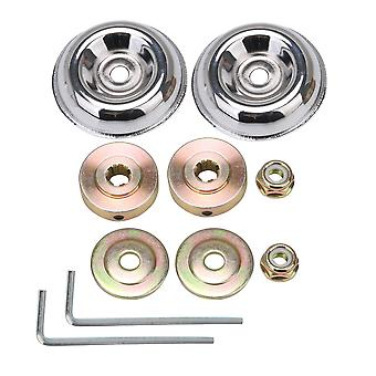 2 Set Lawn Mower Cutting Adapter Kit Replacement for FS56R FS81 FS85