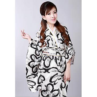 וינטג רטרו יפנית בגד יפני קימונו Cosplay תלבושות יוקאטה שמלת Haori - אדום