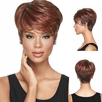 Wig European Beauty Gradient Short Curly Hair