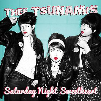 Thee Tsunamis - Saturday Night Sweetheart [CD] USA import
