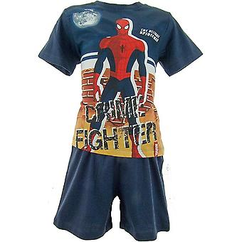 Marvel Spiderman ragazzi Shortie pigiama OE2004