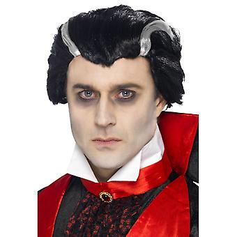 Gróf Dracula Vampire WIG Vlad Halloween Parochňa