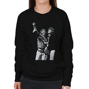 Die Rolling Stones Mick Jagger Keith Richards Rotterdam 1973 Damen Sweatshirt