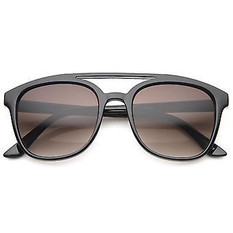 Kwadraat vet Frame kunststof Aviator zonnebril