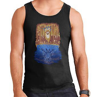Autumn Forest Spirit Princess Mononoke Men's Vest