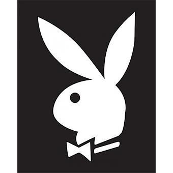 Playboy - BW Bunny affisch affisch Skriv