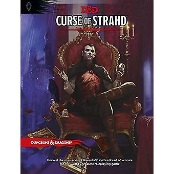 Curse of Strahd A Dungeons and Dragons Sourcebook (DandD Supplement) - Book