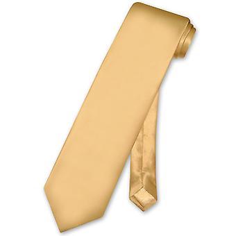 Cravatta di seta 100% di Biagio EXTRA XL collo cravatta lunga Solid uomo