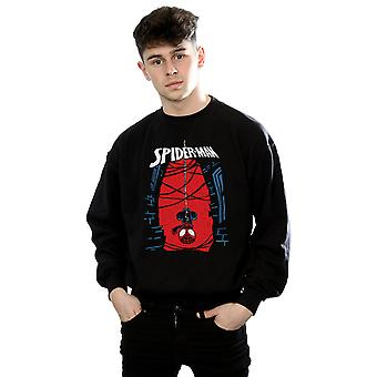 Marvel mænds Spider-Man hængende skitse Sweatshirt