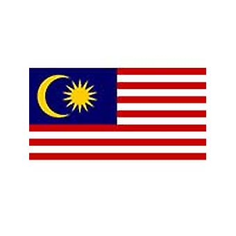 Malaysian Flag 5ft x 3ft With Eyelets For Hanging