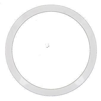 Moldura de Marc Coblen edição de TW aço Ø 50 mm - 13A cerâmica branca