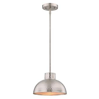 Westinghouse une lampe suspension nickel brossé