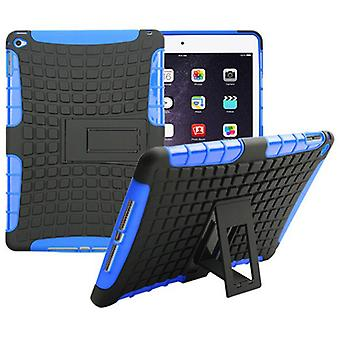 Hybrid outdoor protective cover Case Blau for Apple iPad 2 air bag