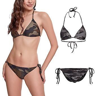 Urban Classics Ladies - CAMO Swimwear Bikini