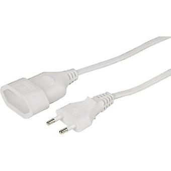 Hama 00137277 Current Cable extension White 5.00 m