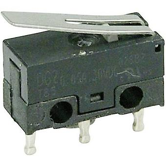 ZF Microswitch DG23-B1LA 30 V DC 0.05 A 1 x On/(On) momentary 1 pc(s)