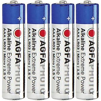 AgfaPhoto LR03 AAA battery Alkali-manganese 1.5 V 4 pc(s)