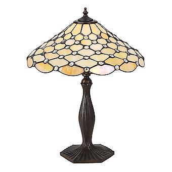 Interiors 1900 Perle klassische Tiffany Single Leuchttisch