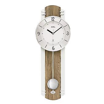 Pendulum clock radio AMS - 5292