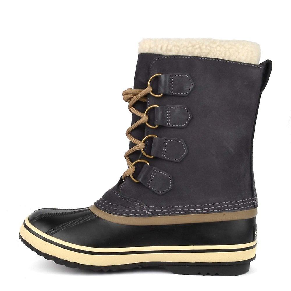 köper nu 2018 skor specialförsäljning Sorel 1964 Pac 2 Coal Suede Shearling Boot | Fruugo