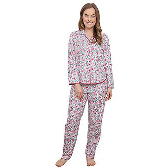 Cyberjammies 3849 vrouwen Holly White Berry Print Pajama pyjama's Top