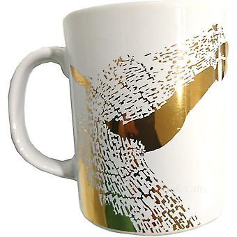 White Label Gold Kelpies Mug