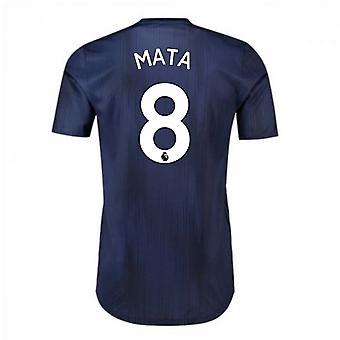 2018-2019 man Utd Adidas tredje Adi null fotball skjorte (Mata 8)