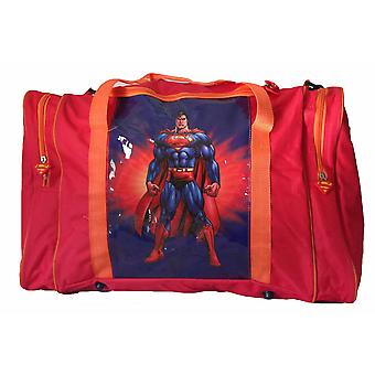 Sports Bag Red Superman