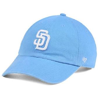San Diego Padres MLB 47 Brand Powder Blue Adjustable Hat