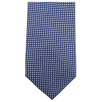 Knightsbridge Neckwear liten tvers Tie - blå