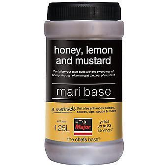 主要なグルテン無料蜂蜜、レモン、マスタード マリ基地