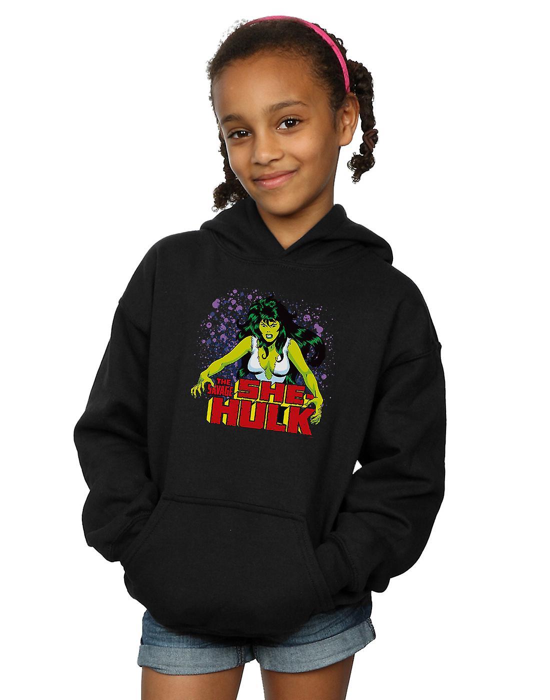 Marvel Girls The Savage She-Hulk Hoodie