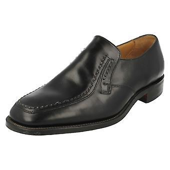 Mens Loake Smart Slip On chaussures Cavendish