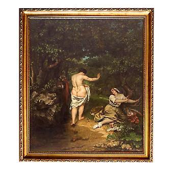 RAM virkistys meidän Galleria, Gustave Courbet, 61x51cm