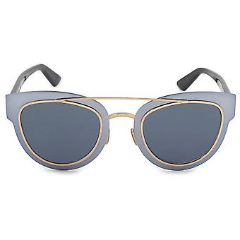 Christian Dior chromique Cat Eye lunettes de soleil métal RKZ9A 47