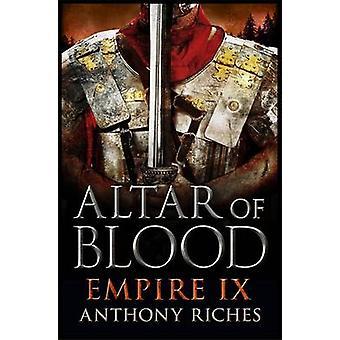 Altar de sangue por Anthony Riches - livro 9781444732016