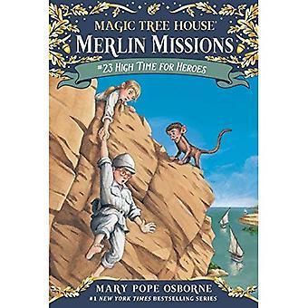 Magic Tree House #51: il est grand temps pour les héros (progression de pierre Book(tm)) (un livre de pierre Stepping)