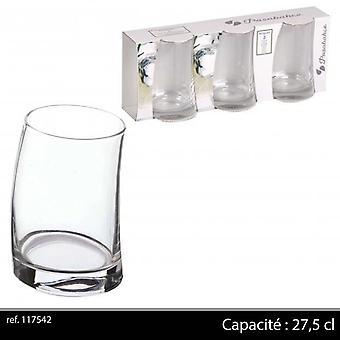 Passabache Penguen Long Drink glas X 3 27,5 Cl