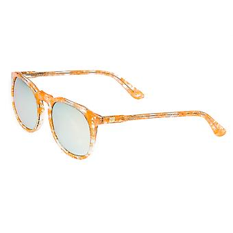 Sixty One Vieques Polarized Sunglasses - Peach Tortoise /Gold