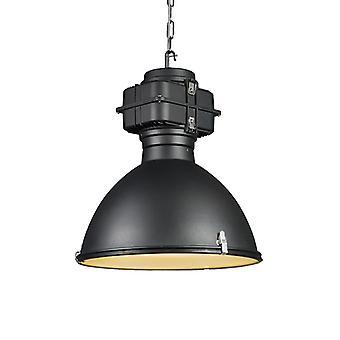 QAZQA IndustrieHängeleuchte schwarz 53 cm - Sicko